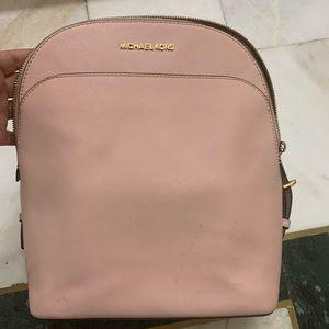 MK Michael Korrs backpack blush pink color hardly used